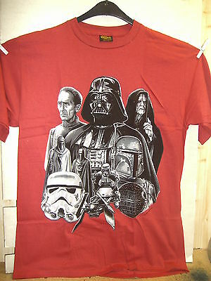 Vintage T-Shirt: Star Wars - The Bad Guys (XL) (USA, 1995)