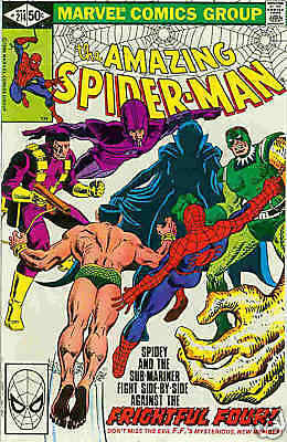 Amazing Spiderman # 214 (USA,1981)