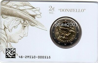 2 EURO COMMEMORATIVO ITALIA 2016 Donatello in Folder