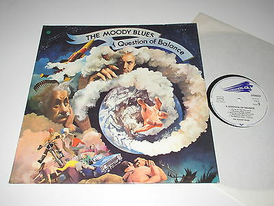 LP/THE MOODY BLUES/A QUESTION OF BALANCE/threshold THS 3 FOC
