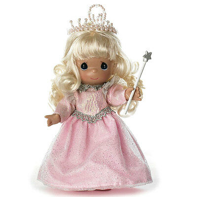 "The Wizard of OZ Precious Moments 7"" Glinda Good Witch Queen Doll by Linda Rick"