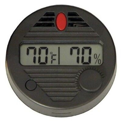 Quality Importers HygroSet Rectangle Digital Hygrometer for Humidors
