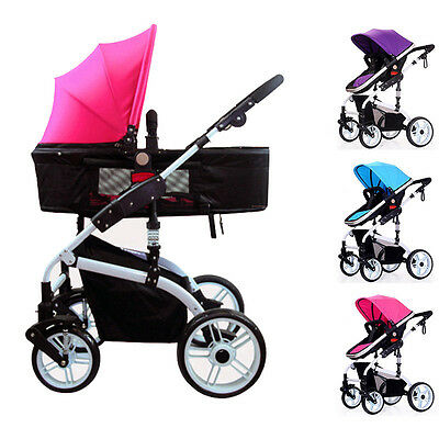Baby Toddler Stroller Pram Foldable Pushchair Infant Shockproof Buggy Carriage