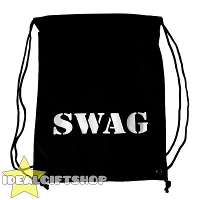 Swag Bag Drawstring Sack Burglar Thief Robber Fancy Dress Costume Accessory