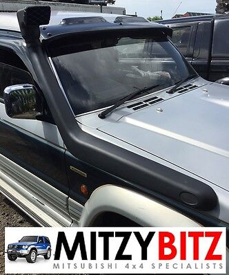 Brand New Mitsubishi Pajero Shogun Mk2 91-97 Snorkel Kit  & Fitting Template