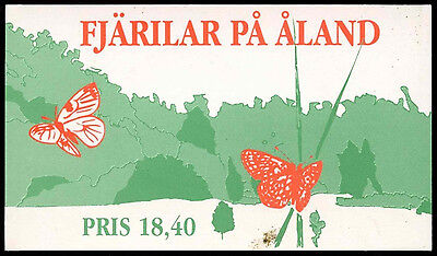 Aland Islands 1994 SG#SB2 Butterflies Used Stamp Booklet #C34020