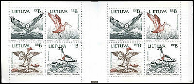 Lithuania 1992 SG#SB1 Birds Of The Baltic MNH Stamp Booklet #C34047