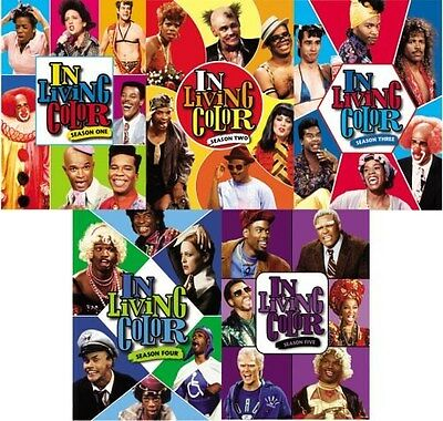 In Living Color - Complete Series: Seasons 1 2 3 4 5 (DVD Box Set 16-Disc) NEW