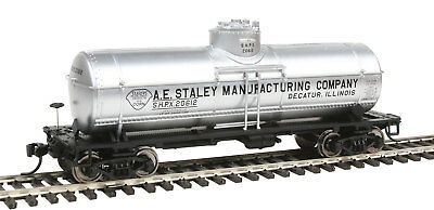 Walthers HO Scale 36' 10,000-Gallon Tank Car A.E. Staley/SHPX #20612