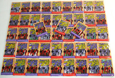 (48) 1989 Topps New Kids on the Block Cello Packs 16 cards & 1 Sticker Per Pack