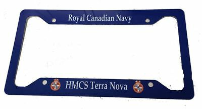 Royal Canadian Navy -  License Plate Frame Post 2011