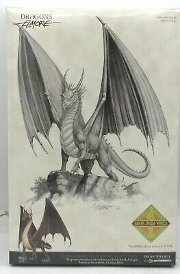 Dark Sword DSM-6005 Elmore Dragon #5 Bronze Dragon Miniature Winged Drake Wyrm
