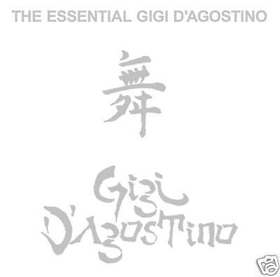 CD Gigi D 'D' Agostino the Essential Gigi D' D'Agostino 2CDs