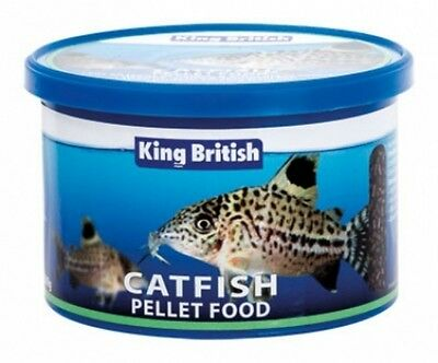 KING BRITISH AQUARIUM CATFISH PELLETS 200g 5017357009506