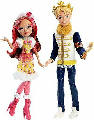 Ever After High Epic Winter 2-Pack, Darling Charming and Rosabella Beauty Dolls