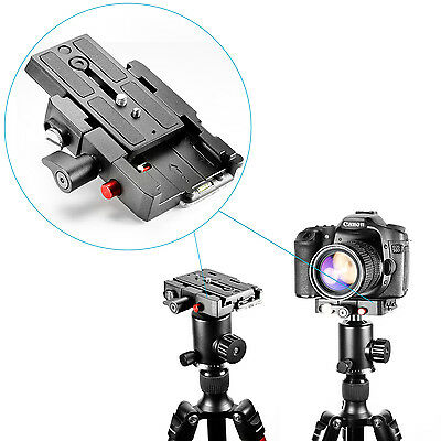 "Neewer Quick Release Plate Adapter with 1/4"" and 3/8"" Screw f DSLR Camera Tripod"