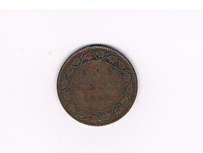 1906 Canada Large Cent Coin-Nice Grade