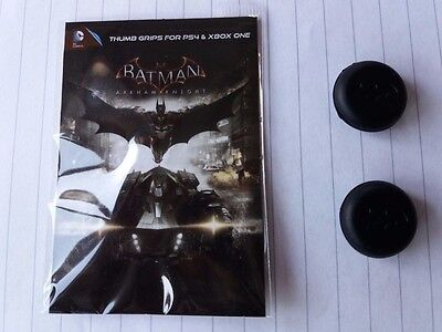 2 x PS4 & XBOX ONE ** CONTROLLER PAD DC Comics BATMAN THUMB GRIPS ** NEW PACKED