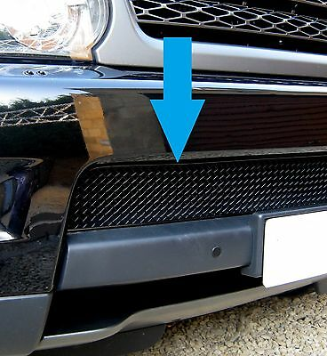 Black front bumper MESH GRILLE insert for Range Rover Sport 2010 on grill new
