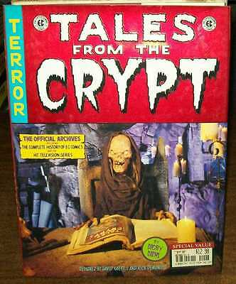 TALES FROM THE CRYPT THE OFFICIAL ARCHIVES HC HARDCOVER VERY FINE #jg-171