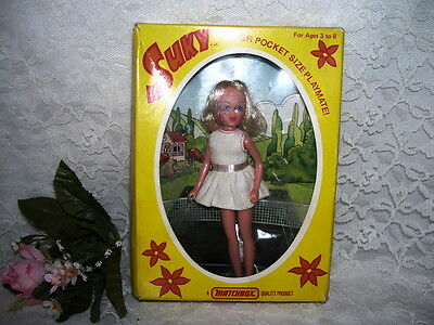 Suky Doll Lesney England Matchbox 1975 In Box