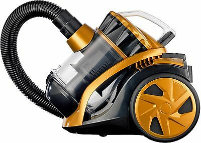 VYTRONIX VTBC01 1400W Compact Cyclonic Bagless Cylinder Vacuum Cleaner Hoover