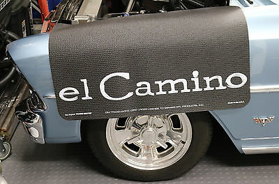 Chevrolet El Camino Fender Gripper Protective Black Cushion Fender Cover: FG2048