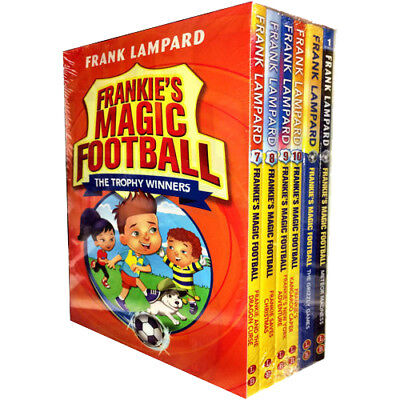 Frankies Magic Football Series 2 Collection 6 Books Set by Frank Lampard NEW Gri