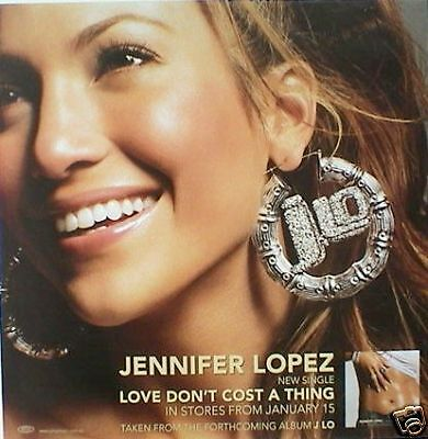 "Jennifer Lopez ""j.lo-Beautiful,smiling Wearing Earrings"" Australian Promo Poster"
