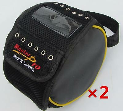 2x Fishing Leader/Trace Line Feeder Bag Hold Up To 6 Spools, Fishing Tackle