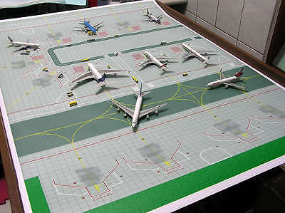 1/400 Accessories Airport basic set Ground Foil NO.1
