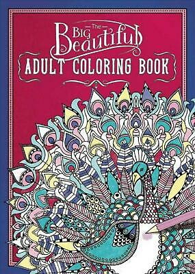 The Big Beautiful Adult Coloring Book by Paperback Book (English)
