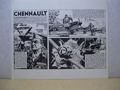 Wally Wood's One-Sheet History Prints: Chennault (USA)