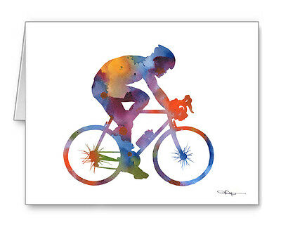 CYCLING Note Cards With Envelopes