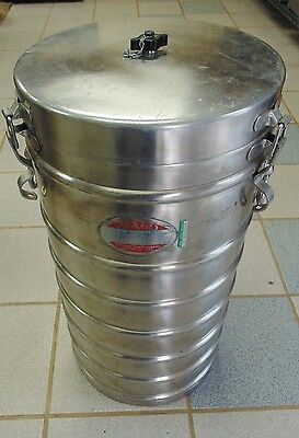 Thermal Food Carrier Aer-Void 1X10 Insulated Food Container 11 Gallons S/S