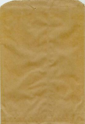 Merchandise Paper Kraft bags 1st Quality Flat Retail Sales Small 100ct