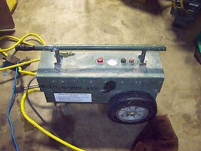 Military aircraft turbine engine  pressure washer 21C2438G01 25 PSI 2.5 GPM used