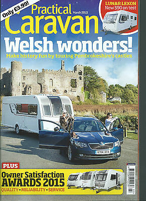 Practical Caravan Travel Whals-Derbyshire Tow Car Tests Great Readin
