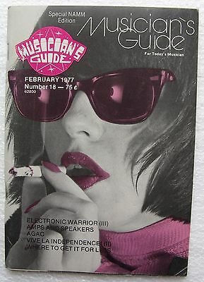 "1977 February ""Musician's Guide"", Special NAMM Edition, 72-page booklet"