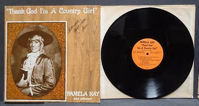 PAMELA KAY thank god i'm a country girl Rare Private Label Female Country Vocal