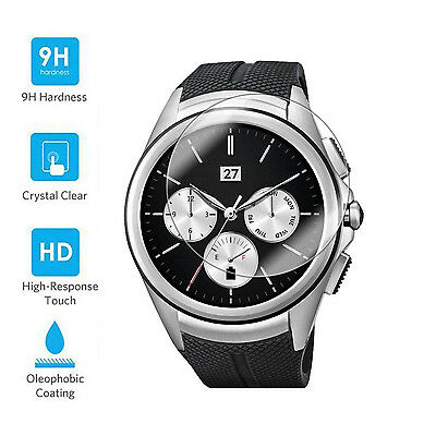 9H Premium Tempered Glass Screen Protector Film Guard For LG Watch Urbane 2nd