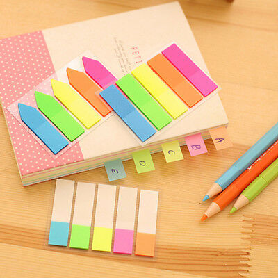 100 Cute Color Sticker Post It Bookmark Point It Marker Memo Flags Sticky Notes