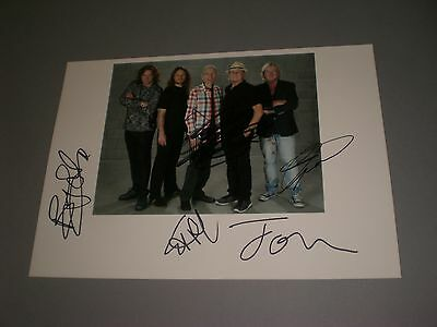 Yes Band  signed signiert autograph Autogramm auf 20x28 Foto in person