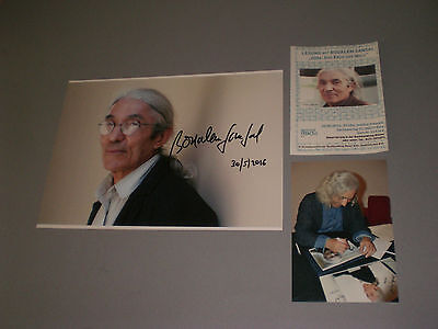 Boualem Sansal 2084 writer signed autograph Autogramm 8x11 photo in person