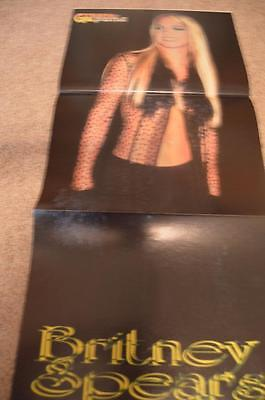 Britney Spears 98 Degrees magazine poster clippings Bop Tiger Beat Teen Beat