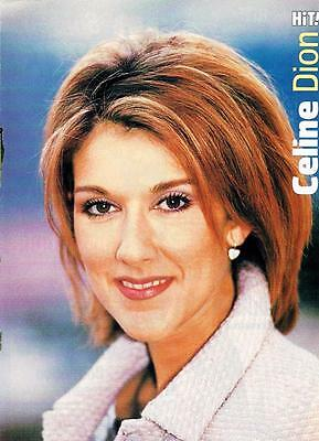 Celine Dion magazine pinup clippings Bop Tiger Beat Titanic Teen Beat