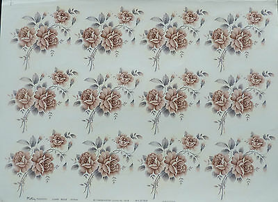 CERAMIC DECALS JUNE ROSE 707760 12  12 cm HIGHT X 7 cm WIDE  RIGHT PRICE