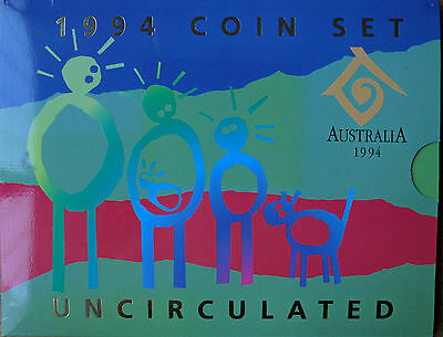 1994 Royal Australian Mint Year of The Family Uncirculated Coin Set