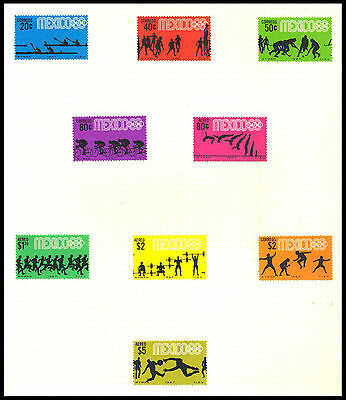 1968 Mexico - Olympic Games, Mexico - Mint - J65