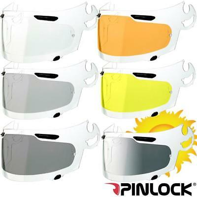 Arai Quantum E/F/S/2 Visor Pinlock Antifog Inserts - Choice of colours